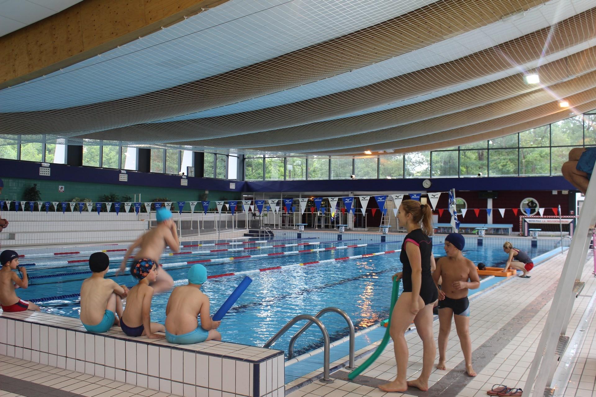 Piscine De La Faisanderie De Fontainebleau Loisirs Aquatiques Et